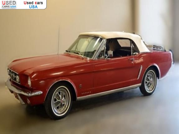 for sale 1965 passenger car ford mustang insurance rate. Black Bedroom Furniture Sets. Home Design Ideas
