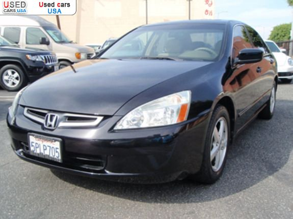 for sale 2005 passenger car honda accord ex los angeles insurance rate quote price 9600. Black Bedroom Furniture Sets. Home Design Ideas