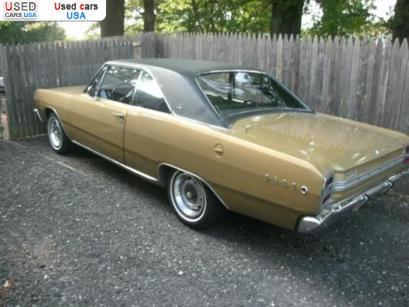 Car Market in USA - For Sale 1968  Dodge Dart