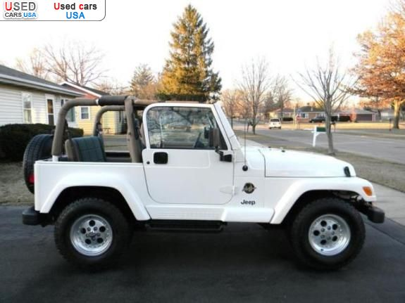 for sale 1999 passenger car jeep wrangler mossville. Black Bedroom Furniture Sets. Home Design Ideas