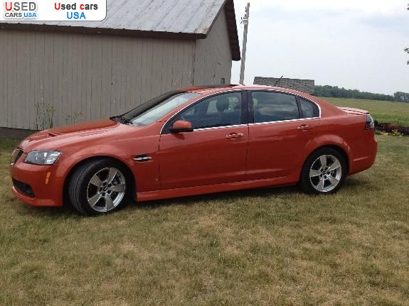 for sale 2008 passenger car pontiac g8 gt akron. Black Bedroom Furniture Sets. Home Design Ideas