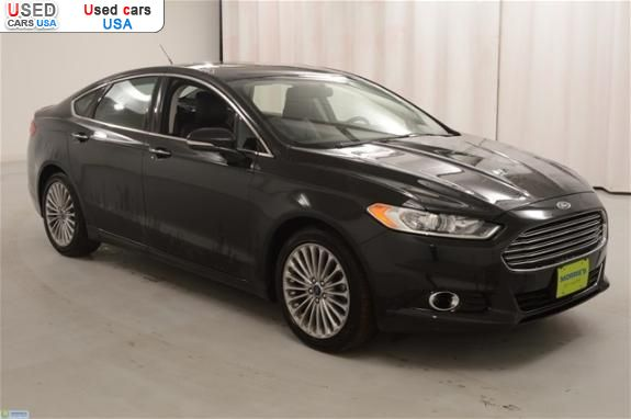 for sale 2013 passenger car ford fusion titanium buffalo insurance rate quote price 21755. Black Bedroom Furniture Sets. Home Design Ideas
