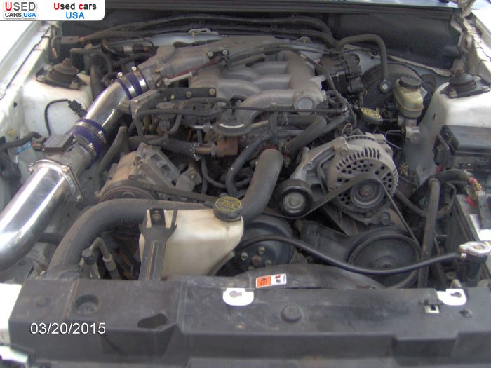 Car Market in USA - Purchase 1999  Ford Mustang Cold Air Intake, Mesd Performance Pack