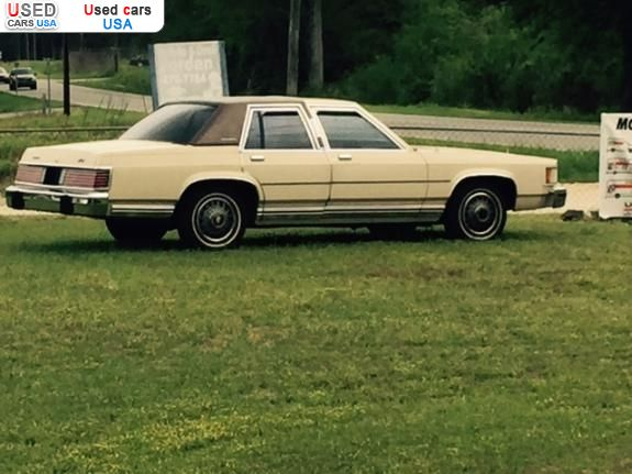 Car Market in USA - For Sale 1985  Mercury Grand Marquis