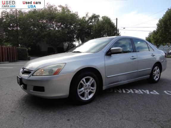 for sale 2006 passenger car honda accord se san jose. Black Bedroom Furniture Sets. Home Design Ideas