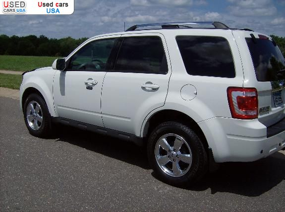 for sale 2012 passenger car ford escape limited chisago city insurance rate quote price 21400. Black Bedroom Furniture Sets. Home Design Ideas
