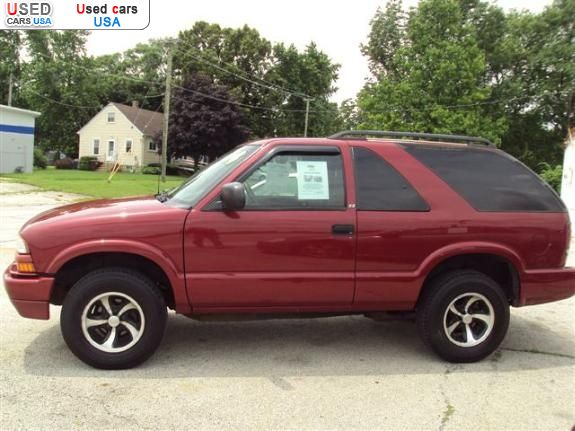 for sale 2004 passenger car chevrolet blazer peotone insurance rate quote price 3500 used cars. Black Bedroom Furniture Sets. Home Design Ideas