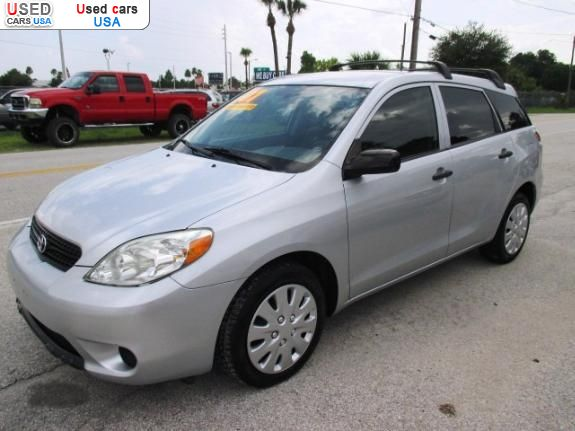 for sale 2007 passenger car toyota matrix xr orlando insurance rate quote price 5999 used cars. Black Bedroom Furniture Sets. Home Design Ideas