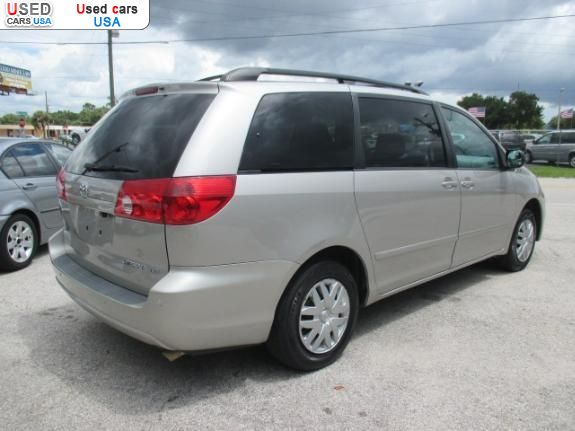 for sale 2006 bus minibus toyota sienna le orlando insurance rate quote price 6700 used cars. Black Bedroom Furniture Sets. Home Design Ideas