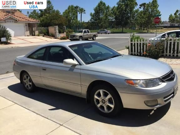 Toyota Solara For Sale By Owner For Sale for 1000$ passenger car Toyota Camry Solara XLE 2001 used ...