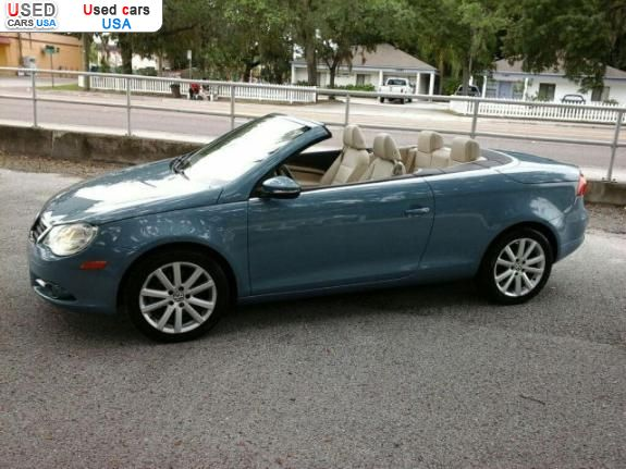 for sale 2008 passenger car volkswagen eos 2 0 turbo convertible insurance rate quote price. Black Bedroom Furniture Sets. Home Design Ideas