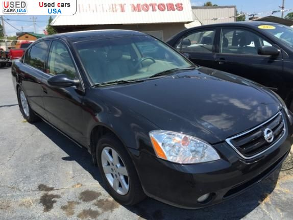 for sale 2002 passenger car nissan altima slt benton insurance rate quote used cars. Black Bedroom Furniture Sets. Home Design Ideas
