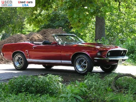 for sale 1969 passenger car ford mustang convertible saint louis insurance rate quote price. Black Bedroom Furniture Sets. Home Design Ideas