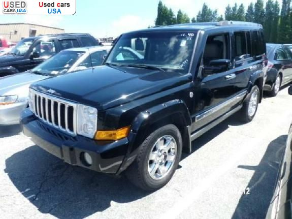for sale 2007 passenger car jeep commander insurance rate quote price 11695 used cars. Black Bedroom Furniture Sets. Home Design Ideas
