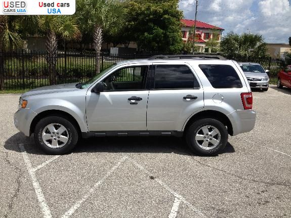 for sale 2012 passenger car ford escape xlt fort myers insurance rate quote price 16995. Black Bedroom Furniture Sets. Home Design Ideas