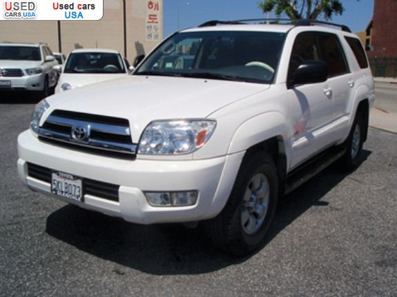 for sale 2005 passenger car toyota 4runner sr5 los. Black Bedroom Furniture Sets. Home Design Ideas