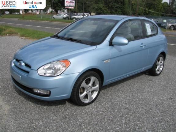 For Sale 2007 passenger car Hyundai Accent, insurance rate ...