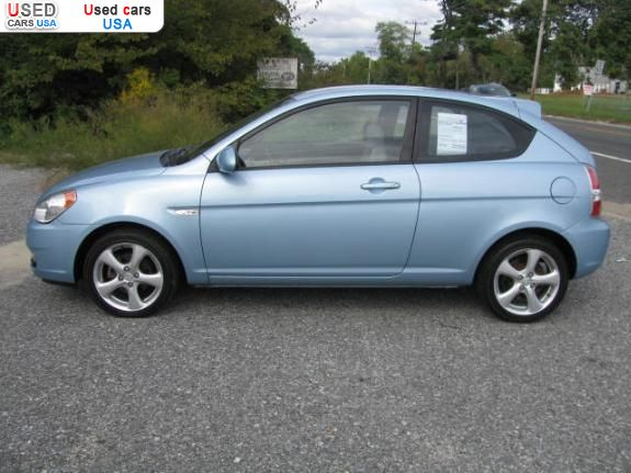 for sale 2007 passenger car hyundai accent insurance rate. Black Bedroom Furniture Sets. Home Design Ideas