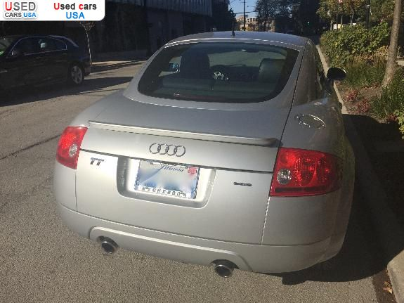 Car Market in USA - For Sale 2001  Audi TT 3.2 CPE