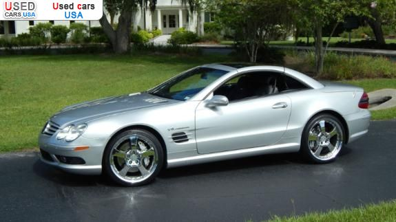 Car Market in USA - For Sale 2003  Mercedes Sl SL Class