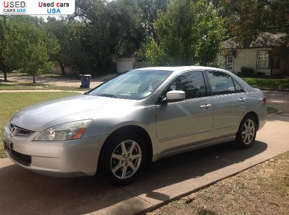 for sale 2003 passenger car honda accord ex wichita insurance rate quote price 9038 used cars. Black Bedroom Furniture Sets. Home Design Ideas