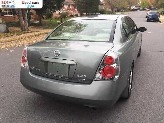 for sale 2006 passenger car nissan altima manassas insurance rate quote price 4900 used cars. Black Bedroom Furniture Sets. Home Design Ideas