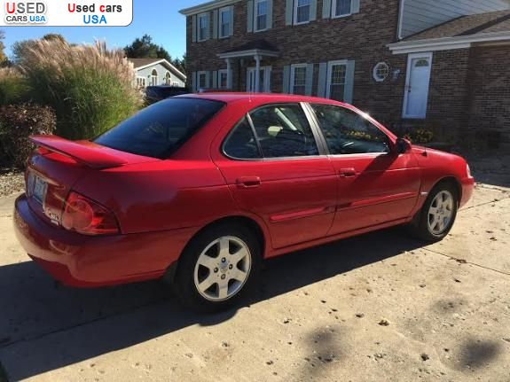 for sale 2005 passenger car nissan sentra 1 8 special chicago insurance rate quote price 3400. Black Bedroom Furniture Sets. Home Design Ideas