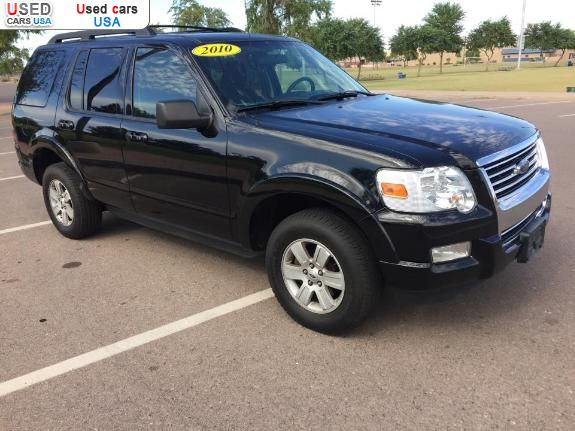 for sale 2010 passenger car ford explorer xlt phoenix insurance rate quote price 12499 used. Black Bedroom Furniture Sets. Home Design Ideas
