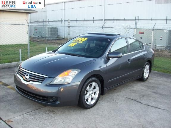 for sale 2008 passenger car nissan altima 2 5 baton rouge insurance rate quote price 8995. Black Bedroom Furniture Sets. Home Design Ideas