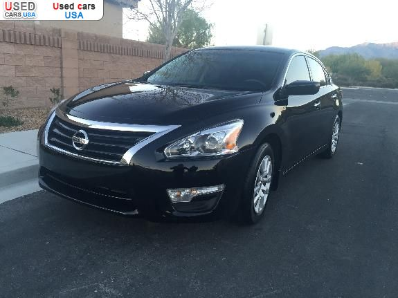 for sale 2015 passenger car nissan altima s north las vegas insurance rate quote price 11900. Black Bedroom Furniture Sets. Home Design Ideas