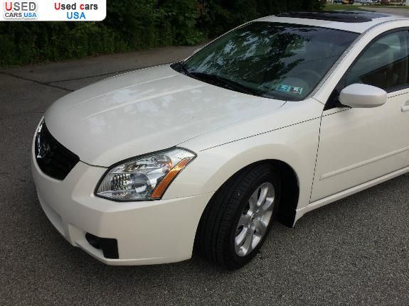 for sale 2008 passenger car nissan maxima sl philadelphia insurance rate quote price 3020. Black Bedroom Furniture Sets. Home Design Ideas