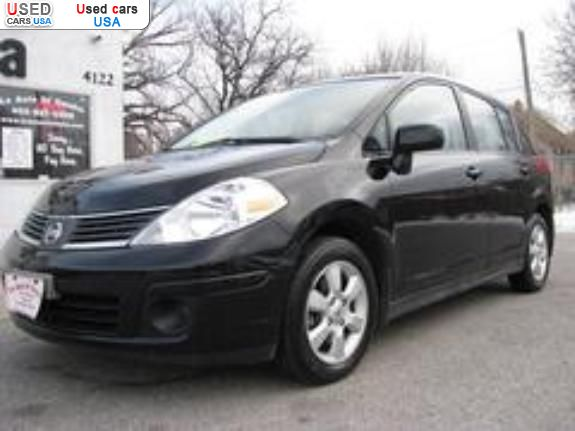 for sale 2007 passenger car nissan versa sl lincoln insurance rate quote price 7977 used cars. Black Bedroom Furniture Sets. Home Design Ideas