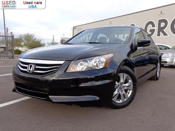 for sale 2012 passenger car honda accord se special edition phoenix insurance rate quote. Black Bedroom Furniture Sets. Home Design Ideas
