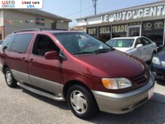 for sale 2003 bus minibus toyota sienna xle lincoln insurance rate quote price 4977 used cars used cars for sale in usa