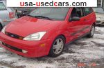 2001 Ford Focus zx3  used car