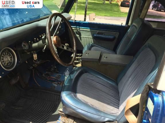 Car Market in USA - For Sale 1976  Ford Bronco