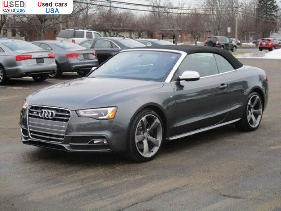 For Sale 2015 Passenger Car Audi A5 Cabriolet San Ramon