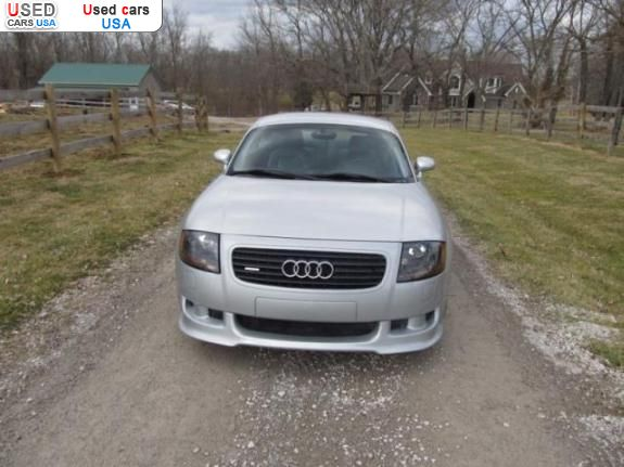 Car Market in USA - For Sale 2001  Audi TT 4 Cyl 1.8 L