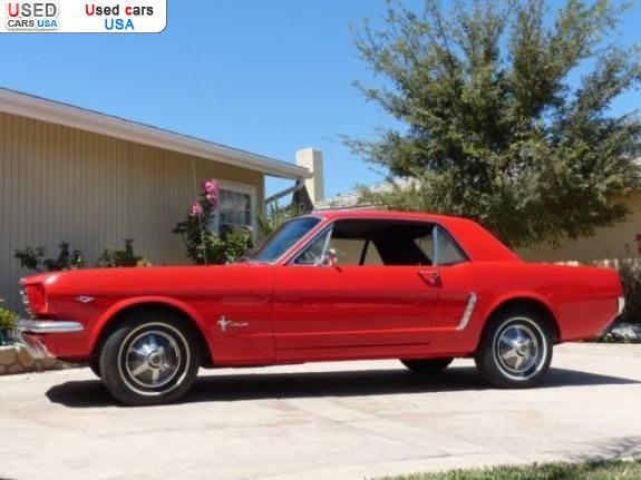 for sale 1965 passenger car ford mustang 289 v8 los angeles insurance rate quote price 2000. Black Bedroom Furniture Sets. Home Design Ideas