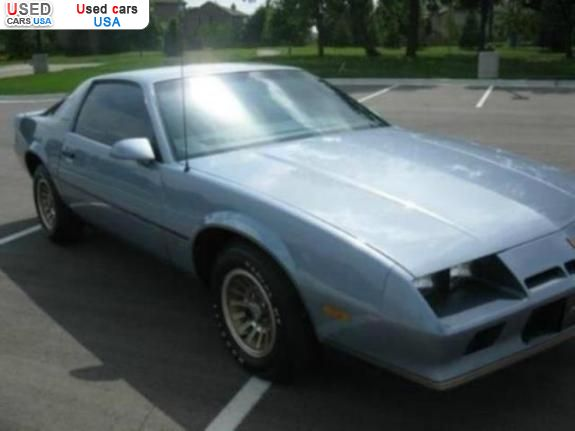 For Sale 1983 passenger car Chevrolet Camaro 8 Cylinder