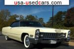 Car Market in USA - For Sale 1967  Cadillac De Ville