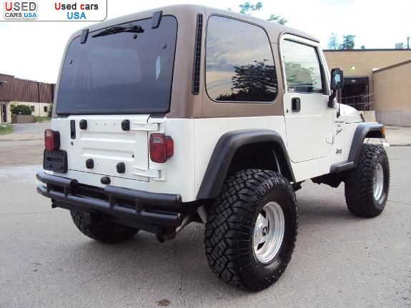 for sale 2000 passenger car jeep wrangler sport lafayette insurance rate quote price 2500. Black Bedroom Furniture Sets. Home Design Ideas