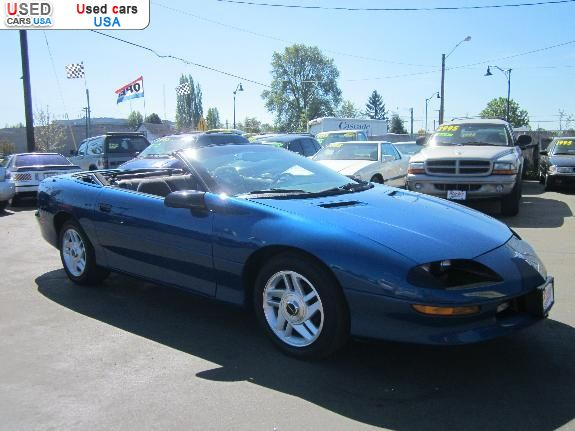 for sale 1994 passenger car chevrolet camaro kelso insurance rate quote price 3995 used cars. Black Bedroom Furniture Sets. Home Design Ideas