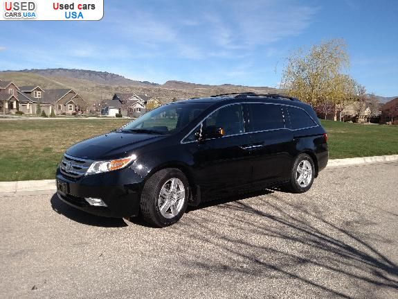 for sale 2012 passenger car honda odyssey touring elite. Black Bedroom Furniture Sets. Home Design Ideas