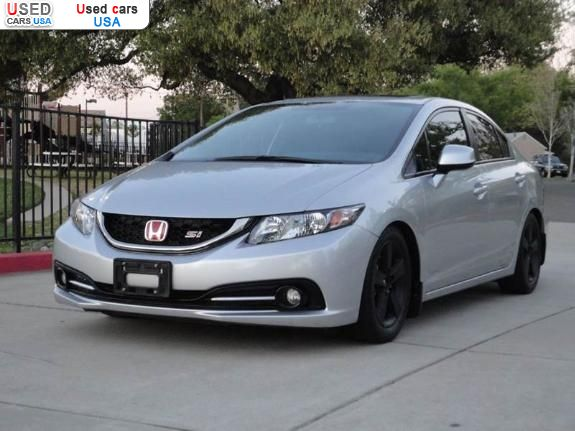 for sale 2013 passenger car honda civic si roseville insurance rate quote used cars. Black Bedroom Furniture Sets. Home Design Ideas