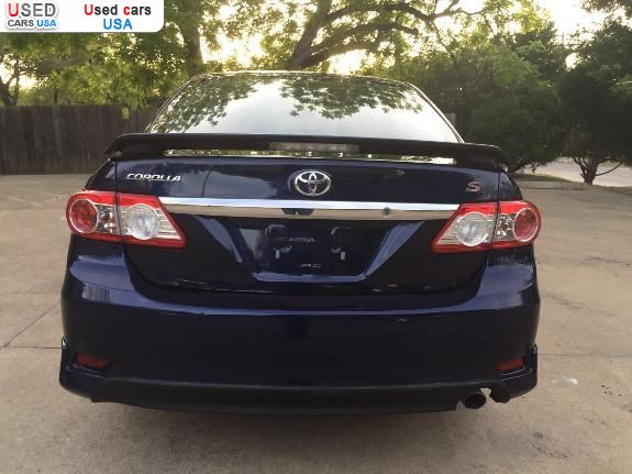 ... S Car Market In USA   For Sale 2013 Toyota Corolla TYPE ...