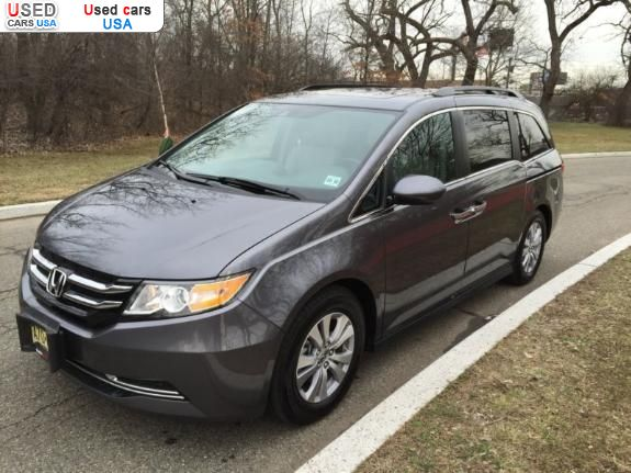 For sale 2014 passenger car honda odyssey south bound for Honda odyssey for sale nj