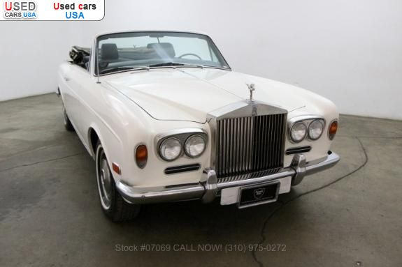 Car Market in USA - For Sale 1973   Corniche Convertible