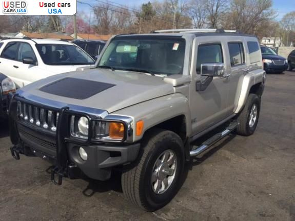 for sale 2007 passenger car hummer h3 redford insurance rate quote price 13595 used cars. Black Bedroom Furniture Sets. Home Design Ideas