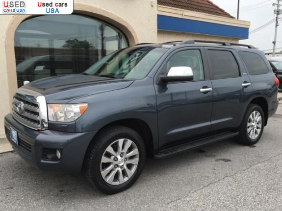 for sale 2008 passenger car toyota sequoia limited baltimore insurance rate quote price 24715. Black Bedroom Furniture Sets. Home Design Ideas